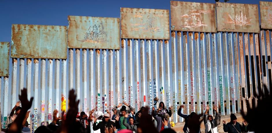 Le périple de la caravane des migrants honduriens