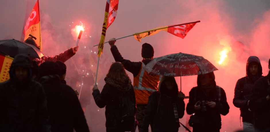 France : climat social explosif